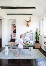 Playroom Living Room A Sophisticated Playroom Emily Henderson