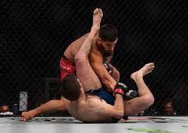 UFC 264: Ilia Topuria hands Ryan Hall ...