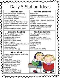 Daily Five Chart Printables Daily 5 Learning 21stcentury Snapshot