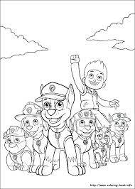 Free Paw Patrol Coloring Pages Pup