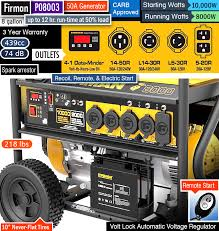 generator with 50 amp outlet. Contemporary Amp Best 50 Amp Generator RV Portable Generator For Home Backup  Power Inside Generator With Outlet