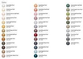 Pearl Color Chart Swarovski Pearl Color Chart Swarovski Crystal Beads