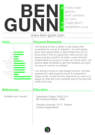 Skill Resume Web Design Resumes Template Example Web Designer
