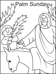 Small Picture Sunday School Coloring Pages Palm Sunday