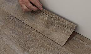 vinyl plank flooring installation centre line