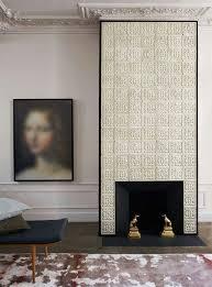 Очень contemporary fireplacesfireplace tilesart deco