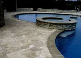 are travertine pavers slippery