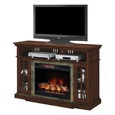 60 electric fireplace media center amazing lakeland roasted cherry infrared regarding 8