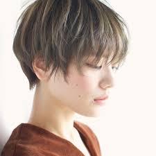 女をシンプル美しく昇華させるショートヘアスタイル集大人髪を