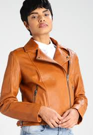 banana republic leather jacket light brown women clothing jackets