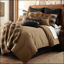 function the good outdoor right in your bedroom with lodge themed décor with a few picks from black forest décor s bedding and home decor you will have a