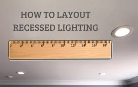 how to layout recessed lighting in 5