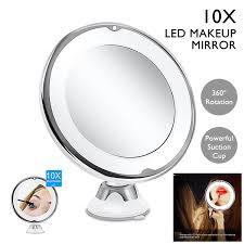 portable 10x magnifying makeup vanity