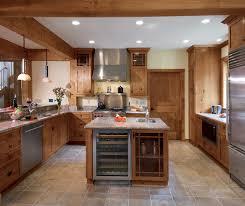 in style kitchen cabinets:  knotty alder kitchen cabinets in natural finish by kitchen craft cabinetry