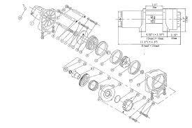 warn atv winch parts diagram warn image wiring diagram warn 2500 atv winch wiring diagram wiring diagram and schematic