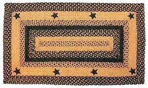 primitive area rugs local braided rug image detail for barn star black country canada r primitive kitchen rugs