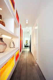 White Red Lightbox Gallery Hallway