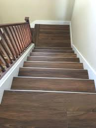 how to install stair nose on landing flooring for stairs how to install stair nose floating