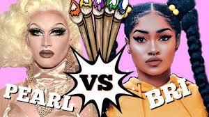 pearl vs bri hall the glowdown by sleek makeup usa