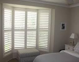 plantation shutter bay window bedroom 0121