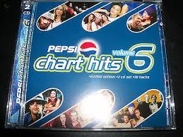 Pepsi Chart Hits Volume 6 Cd Ft Kylie Minogue Tina Arena