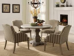 Small Round Dining Table with Leaf