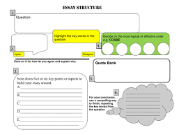 ocr gcse sociology learning mat sentences starters by  essay map