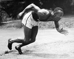 jesse owens and the olympic gold medal jesse owens running