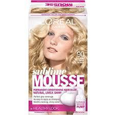L Oreal Sublime Mousse Hair Color