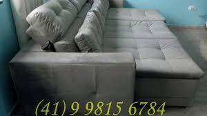 sofa retratil. sof retrtil com chaise long e cabeceira reclinvel sofa retratil