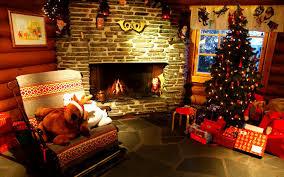 Fancy Fireplace Fancy Living Room Christmas Home Deco Integrates Splendid