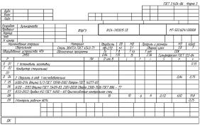 Технологическая подготовка производства 9 4 Рабочая документация технологического процесса