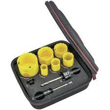 Starrett Hole Saw Size Chart Saws Hole Saws Hole Saw Kits 9 Pc Electricians Hole