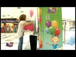 Helium Balloon Vending Machine Mesmerizing Balloon Vending Machine In Reverse YouTube