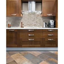 Rock Backsplash Self Stick Tiles Home Depot Tile Stone Lowes Kitchen  Flooring Ideas Peel And Back Mosaic Wallpaper With Dark Cabinets Murals  Trends On ...