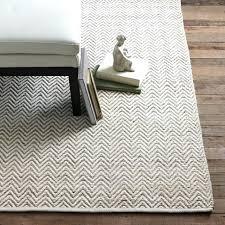 wool jute rug chunky grey chenille herringbone natural ivory