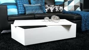 modern white coffee table modern rectangular white high gloss coffee table with storage regarding plan modern