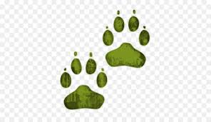 green dog paw clipart. Beautiful Dog Dog Cat Paw Printing Clip Art  Clipart With Green