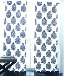 Navy Blue Patterned Curtains Best Blue Patterned Curtains Blue Tiles Valance Curtains Inches Navy Blue