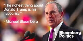 「Michael Rubens Bloomberg stand to trump」の画像検索結果