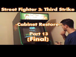 Top Tier Tech - Street Fighter 3: Third Strike - Cabinet Restore ...