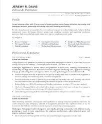 Copy Editor Resume Sample