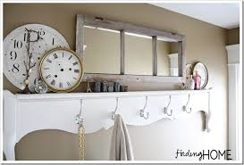 towel hanger ideas. Bathroom Decorating Ideas, Footboard Towel Rack Hanger Ideas F