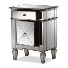 full size of nightstands mirror bedside table mirrored nightstand side target with glass nightstands
