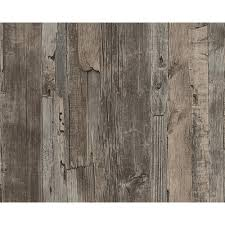 as creation distressed driftwood wood panel faux effect embossed wallpaper 954051