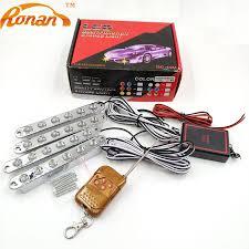 Led Multi Function Strobe Light Ronan 4x6led 24 Leds Strobe Light For Car With Wireless Remote Controller White Yellow Led Drl Daytime Running Light
