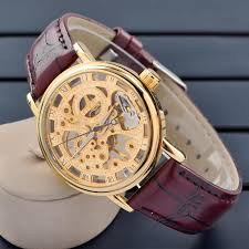 gold silver luxury men s watch mechanical hand wind movement gold silver luxury men s watch mechanical hand wind movement leather band wrist watch luxury mens watch luxury mens watch luxury mens watch online