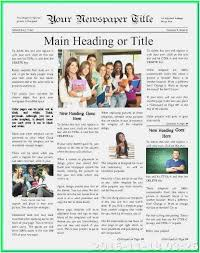 Magazine Article Format Template Download Free Magazine Template For Microsoft Word Format