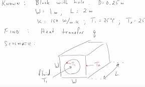 lecture 10 2d conduction ysis part 3 example shape factors