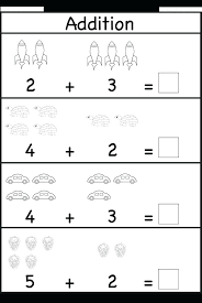 free kindergarten math worksheets addition